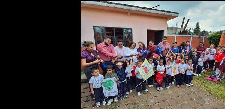 INAUGURA DIF MORELOS COMEDOR ESCOLAR EN YECAPIXTLA