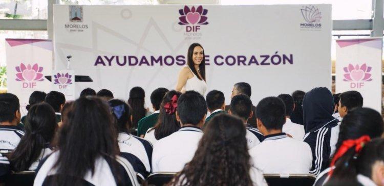 PROMUEVE NATÁLIA REZENDE FORTALECIMIENTO DE ACCIONES EN BENEFICIO DE LAS FAMILIAS MORELENSES