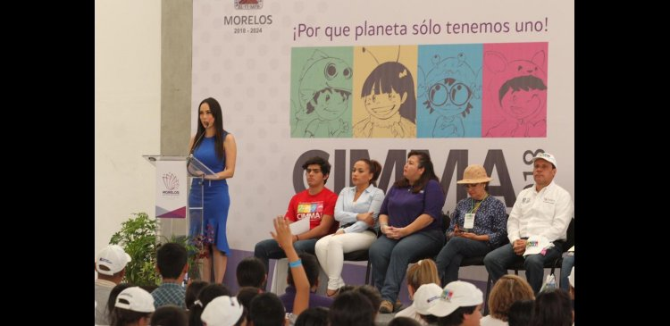 CLAUSURAN CON ÉXITO XIX CUMBRE INFANTIL MORELENSE POR EL MEDIO AMBIENTE