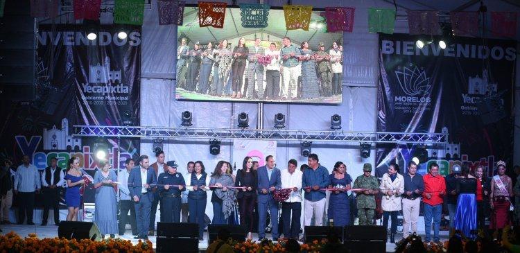 INAUGURA CUAUHTÉMOC BLANCO FERIA DE LA CECINA Y TIANGUIS GRANDE DE YECAPIXTLA 2019